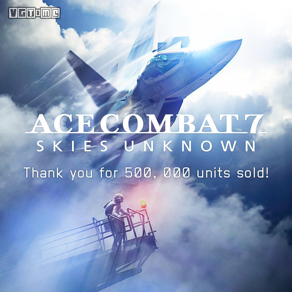 《皇牌空战7》亚洲地区销量突破50万