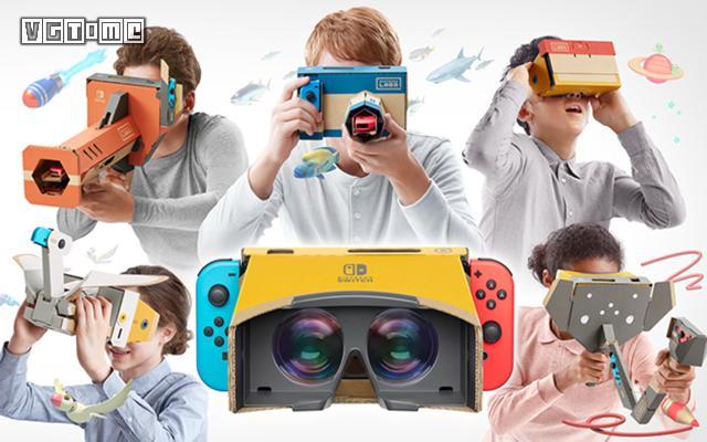 《任天堂Labo VR套装》将于4月12日发售