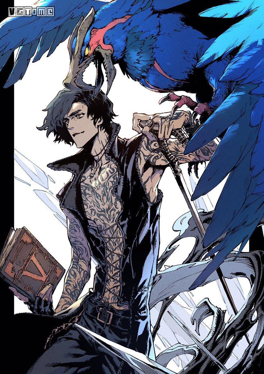 《鬼泣5》前传漫画第零章上线 讲述V的起源故事