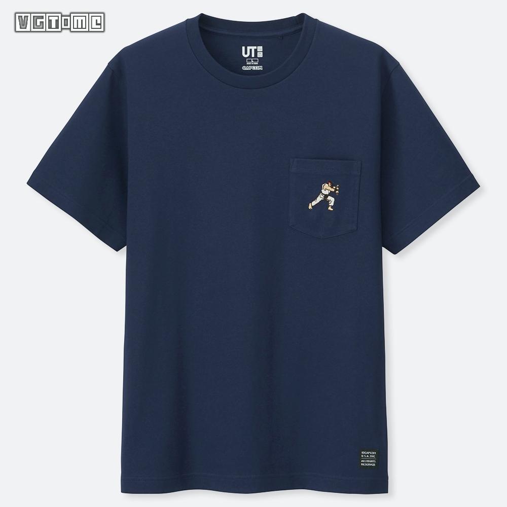 【优衣库×街头霸王】联动T恤公开 4月15日在日本推出