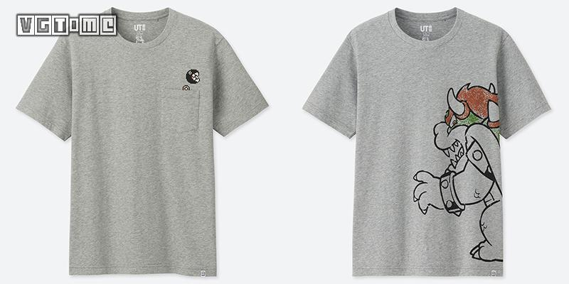 【优衣库×任天堂】马力欧联动T恤4月1日登陆中国