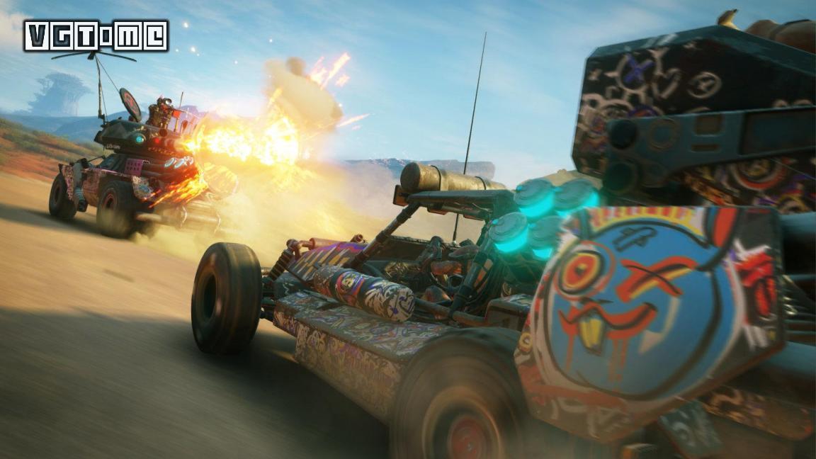 《狂怒2》在PS4 Pro和X1X上都将以60帧运行