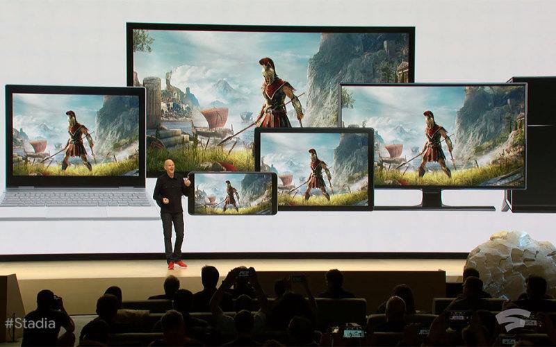 谷歌公布云游戏平台「Stadia」 预计2019年上线