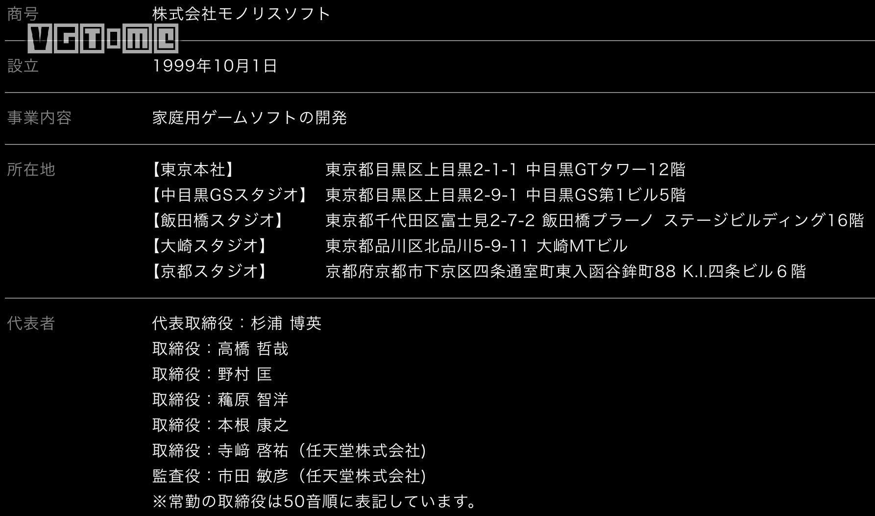 The developer of Alien Sword has added a new studio in Dazaki, Tokyo