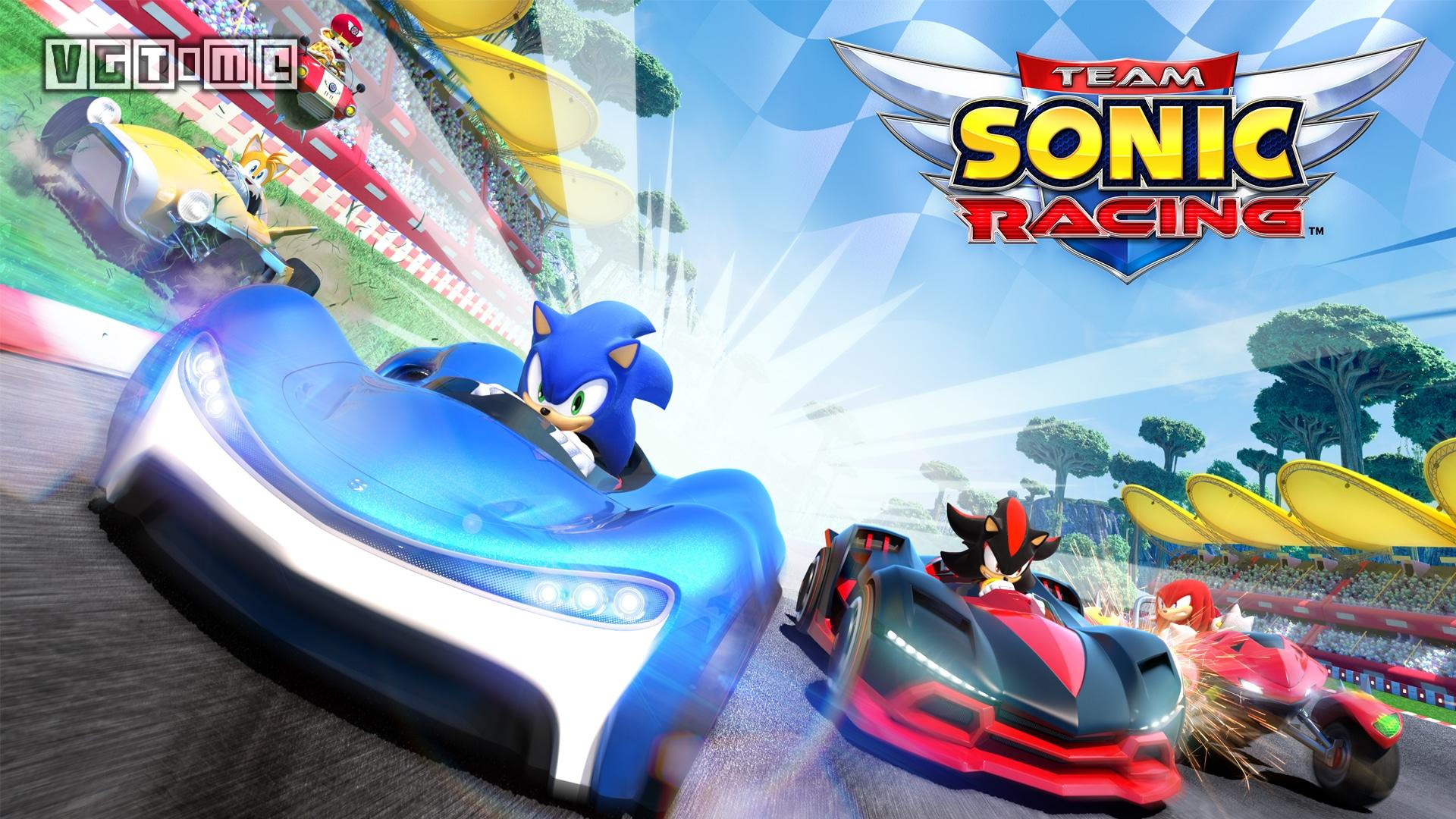 Sonic Team Racing announces the types of racing cars, the system of car change and the new track.
