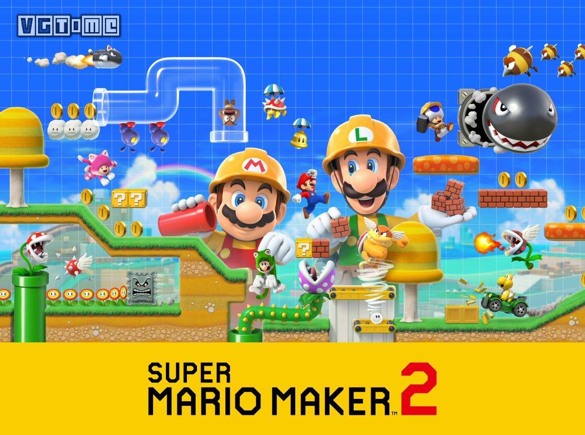 《超级马力欧创作家2》将于6月28日发售