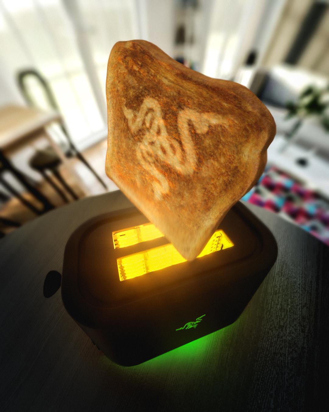 愚人节玩笑成真!雷蛇计划推出超炫烤面包机