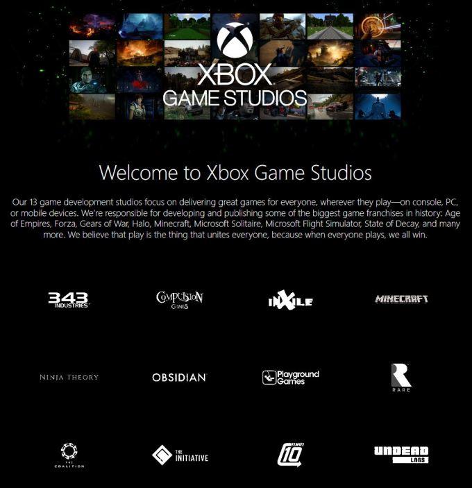 说说微软Xbox第一?#25509;?#25103;工作室现况与项目