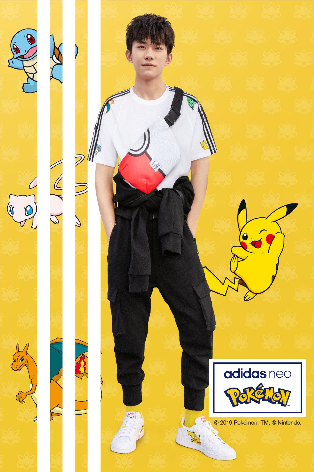 【adidas neo×宝可梦】跨界联名款明日开启预购