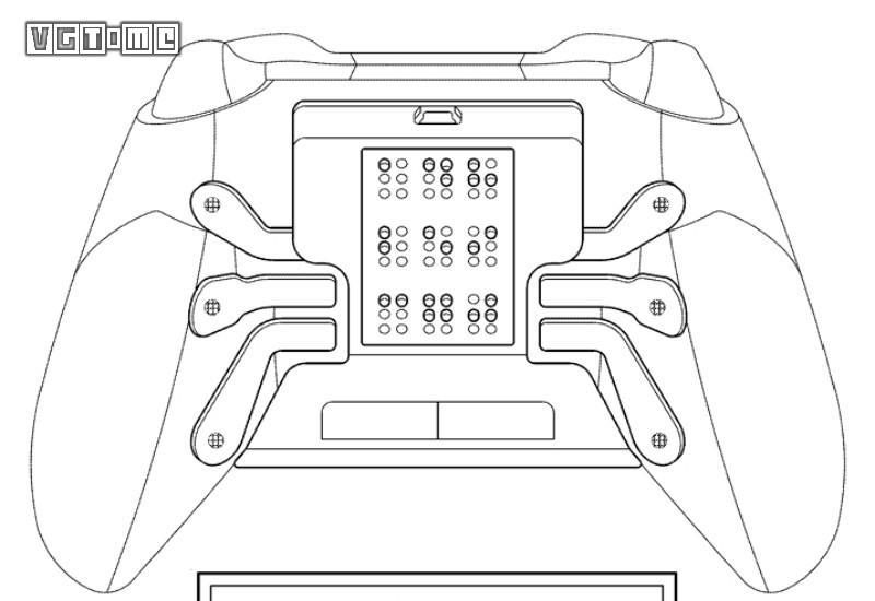 微软全新手柄专利曝光,背面含盲文阅读面板