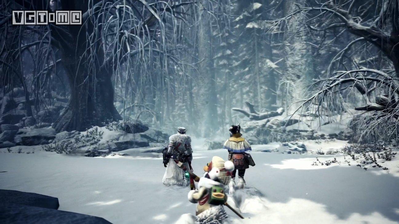 《怪物猎人 世界:Iceborne》这次暗藏的情报,我们来猜猜