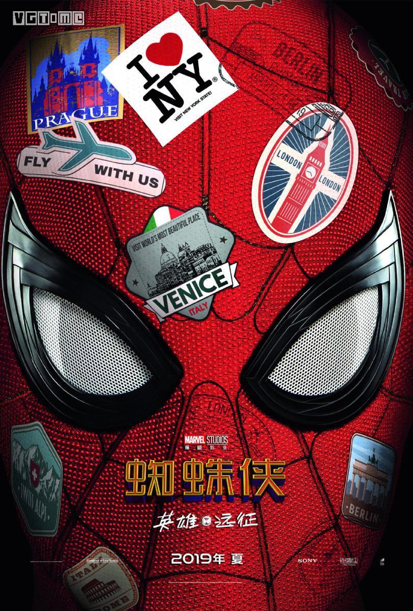 《蜘蛛侠 英雄远征》国内定档6月28日 提前北美5天上映