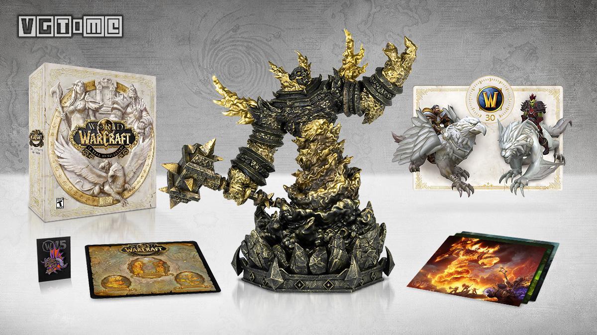 《魔兽世界》推出十五周年收藏家限定礼盒