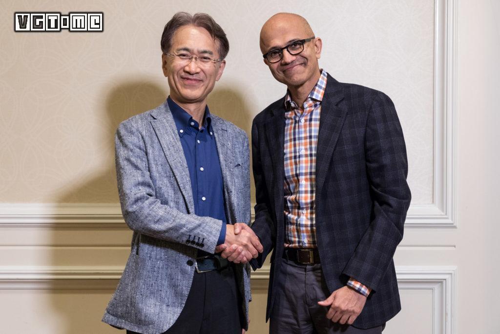 索尼与微软的合作,连PlayStation团队成员都不知情