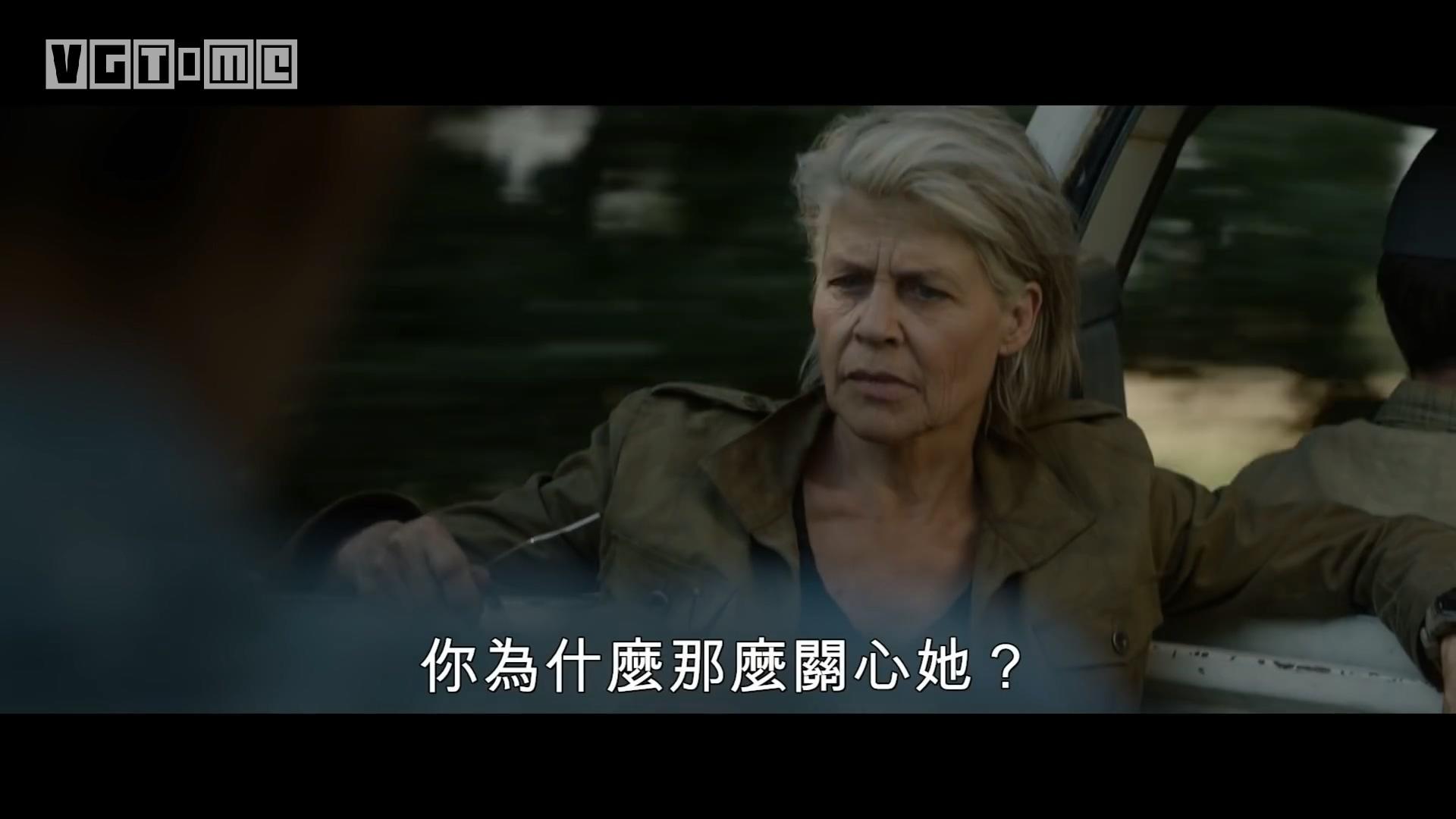 """《终结者:黑暗命运》预告公布:T-800及老版""""莎拉·康纳""""回归"""