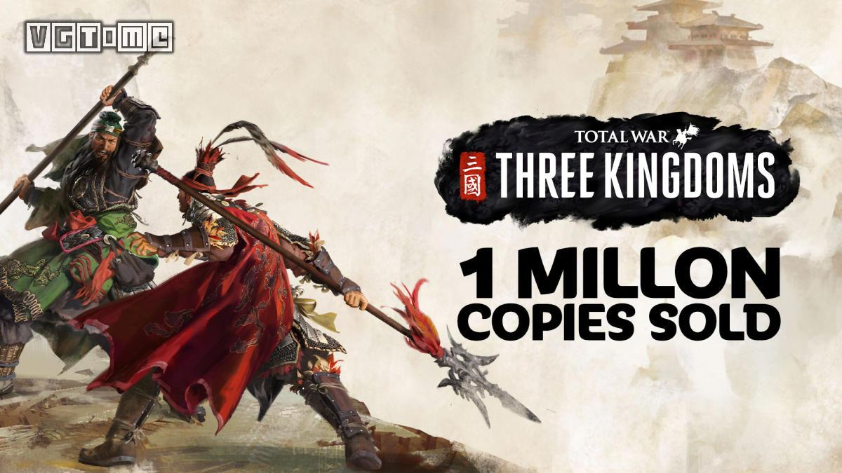 《全面战争:三国》首周销量突破100万,破系列纪录