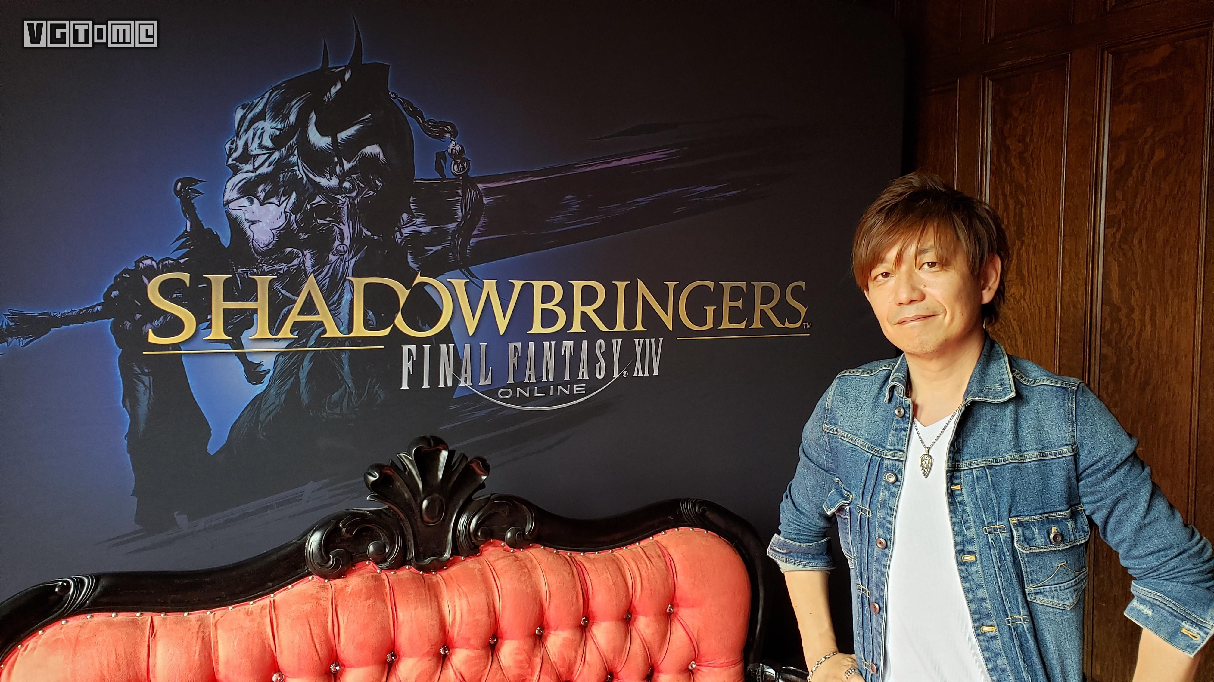 横尾太郎高度参与了《最终幻想14》资料片「漆黑的反叛者」的开发