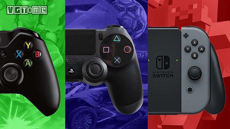 索尼,微软,任天堂各自平台畅销游戏Top10公布
