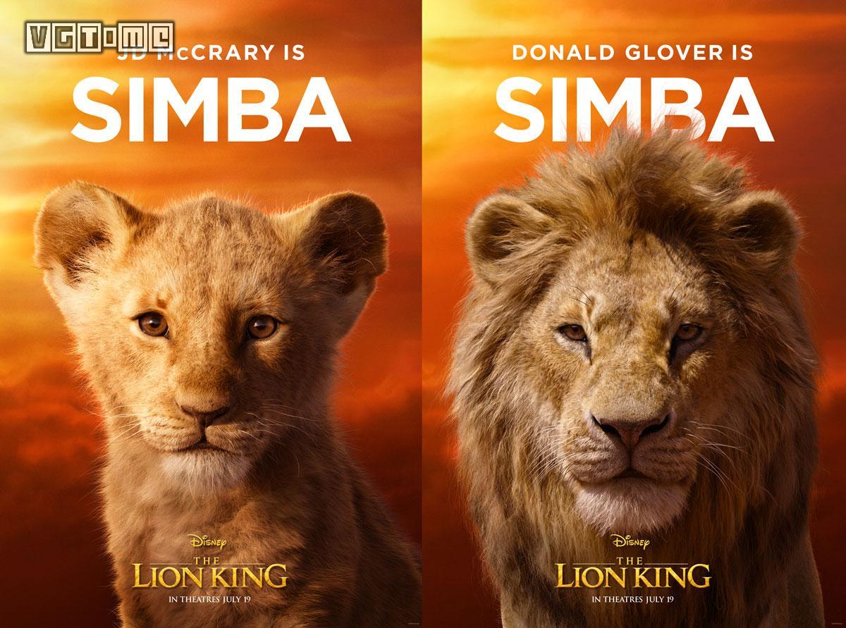 《狮子王》CG电影新预告&主角海报公布