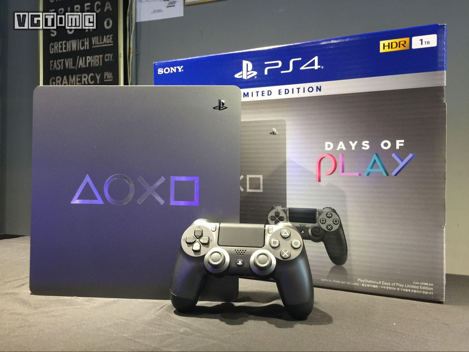 「Days of Play」限定版PS4实机展示