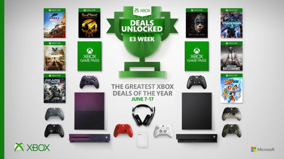 微软开启Xbox大型特卖活动 紫色XB1S正式上市