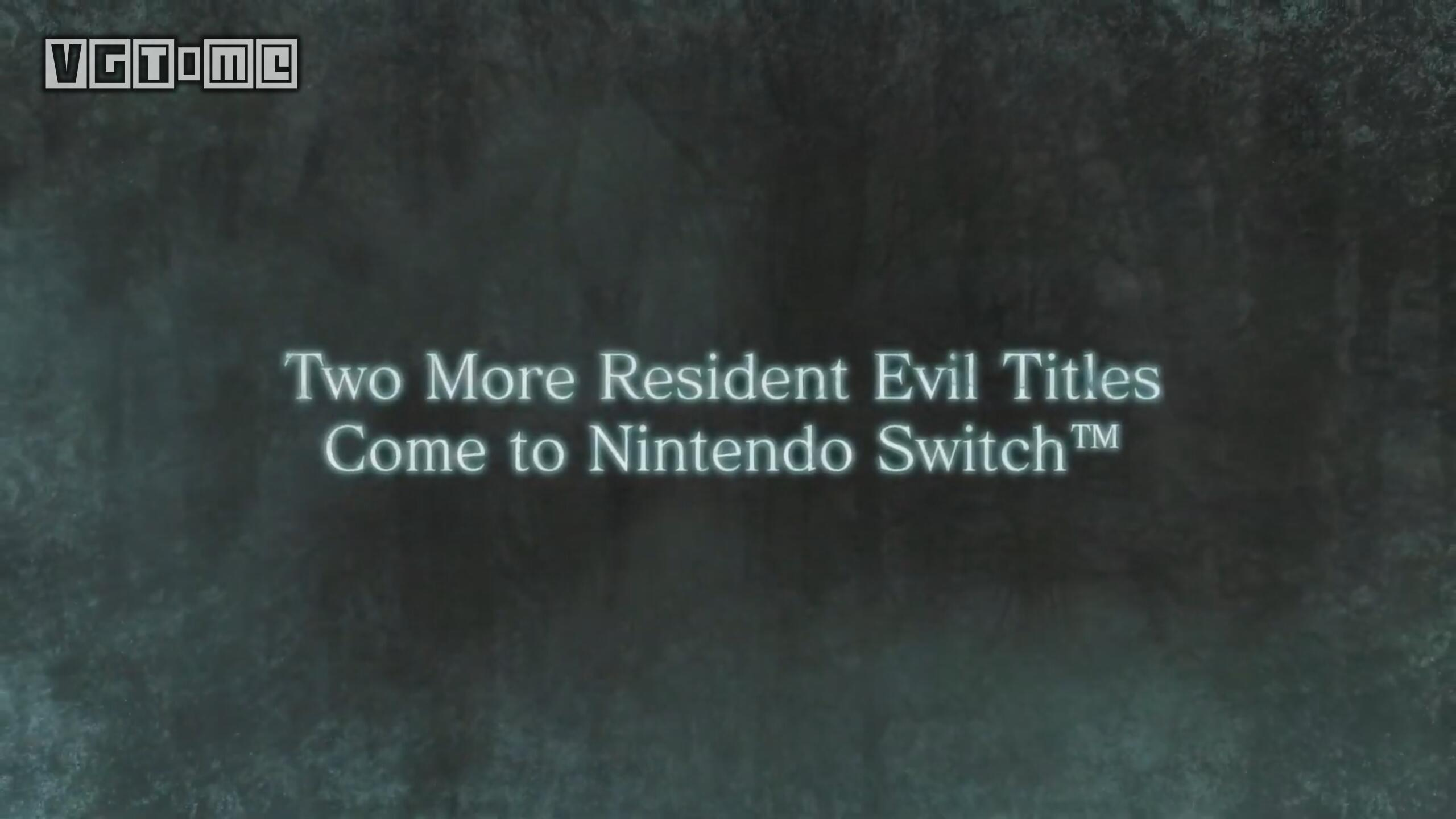 《生化危机5/6》将于今年秋季登陆Switch