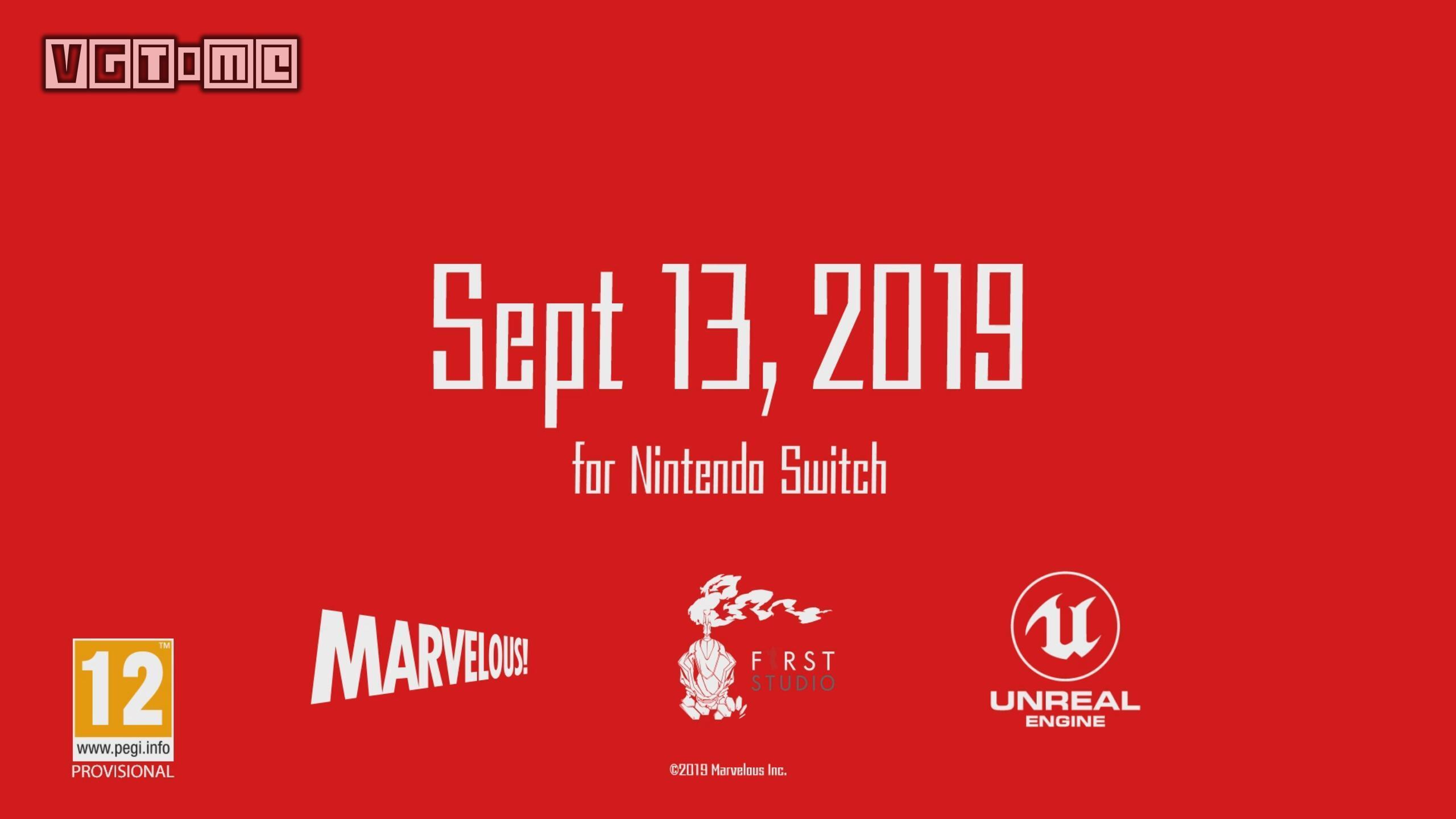 《恶魔X机甲》将于今年9月13日登陆Switch