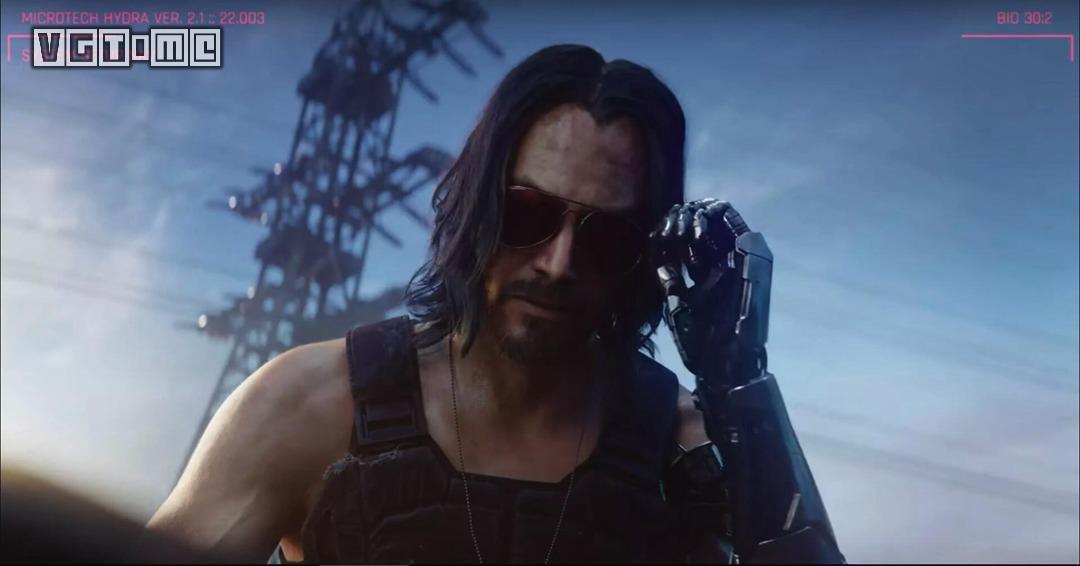 基努·里维斯在《赛博朋克2077》里是个「重要角色」