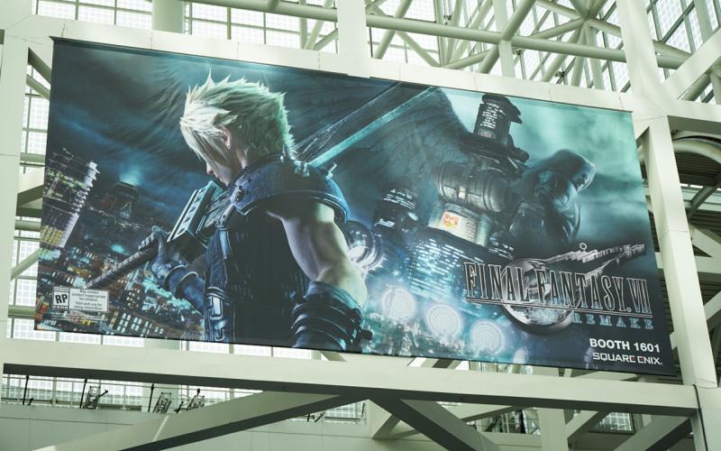 《最终幻想7重制版》体验报告 可能是本届E3最火的试玩