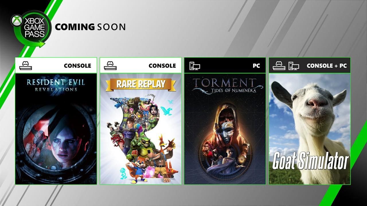 微软公布XGP新增游戏:《生化危机 启示录》《Rare合集》等