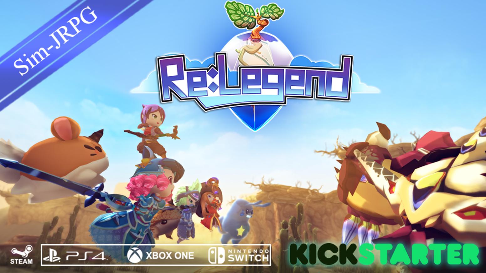 这个来自马来西亚的独立游戏《Re:Legend》可能是E3最让我意外的作品