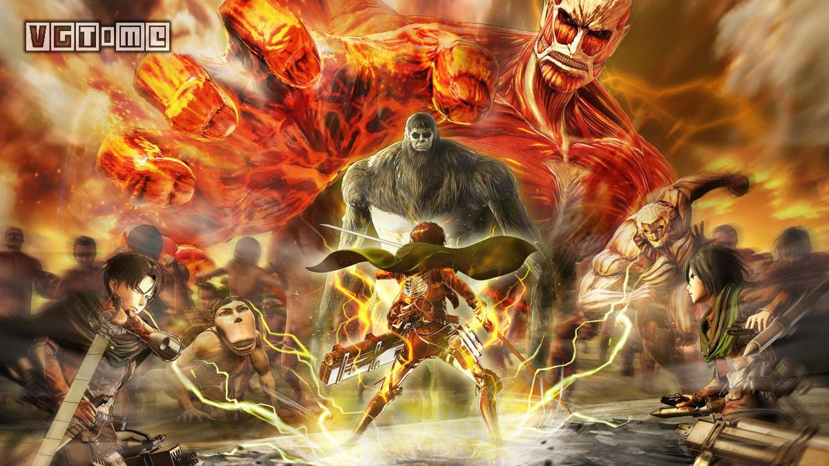 高速动作游戏《进击的巨人 最终之战》中文版今日发售