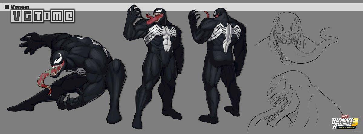 《漫威终极联盟3 黑暗教团》角色设定图公布