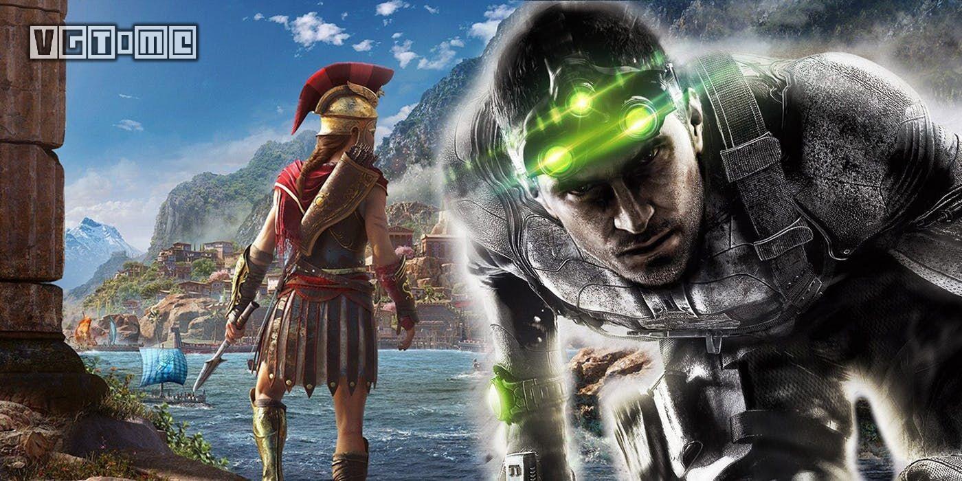 有报道称育碧将开发《细胞分裂》《刺客信条》VR游戏