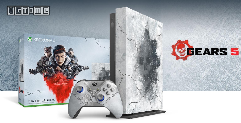 《战争机器5》限定版Xbox One X公布 太帅了
