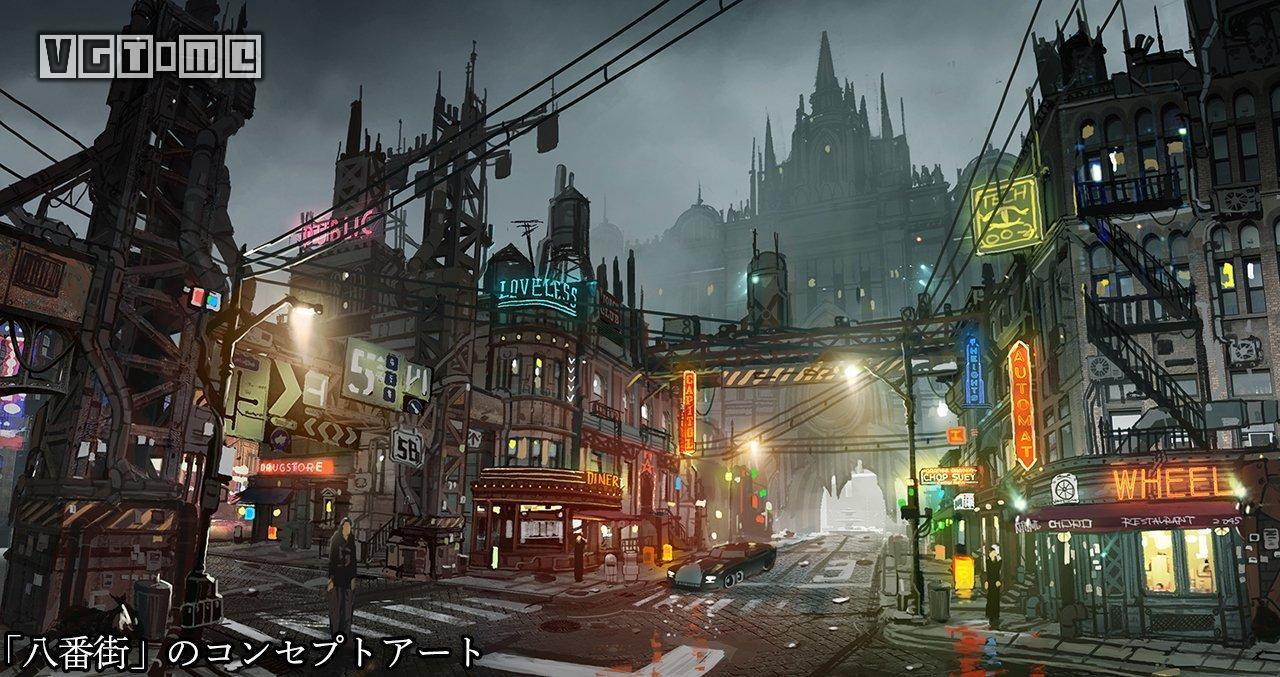 《最终幻想7 重制版》截图 & 设定图汇总