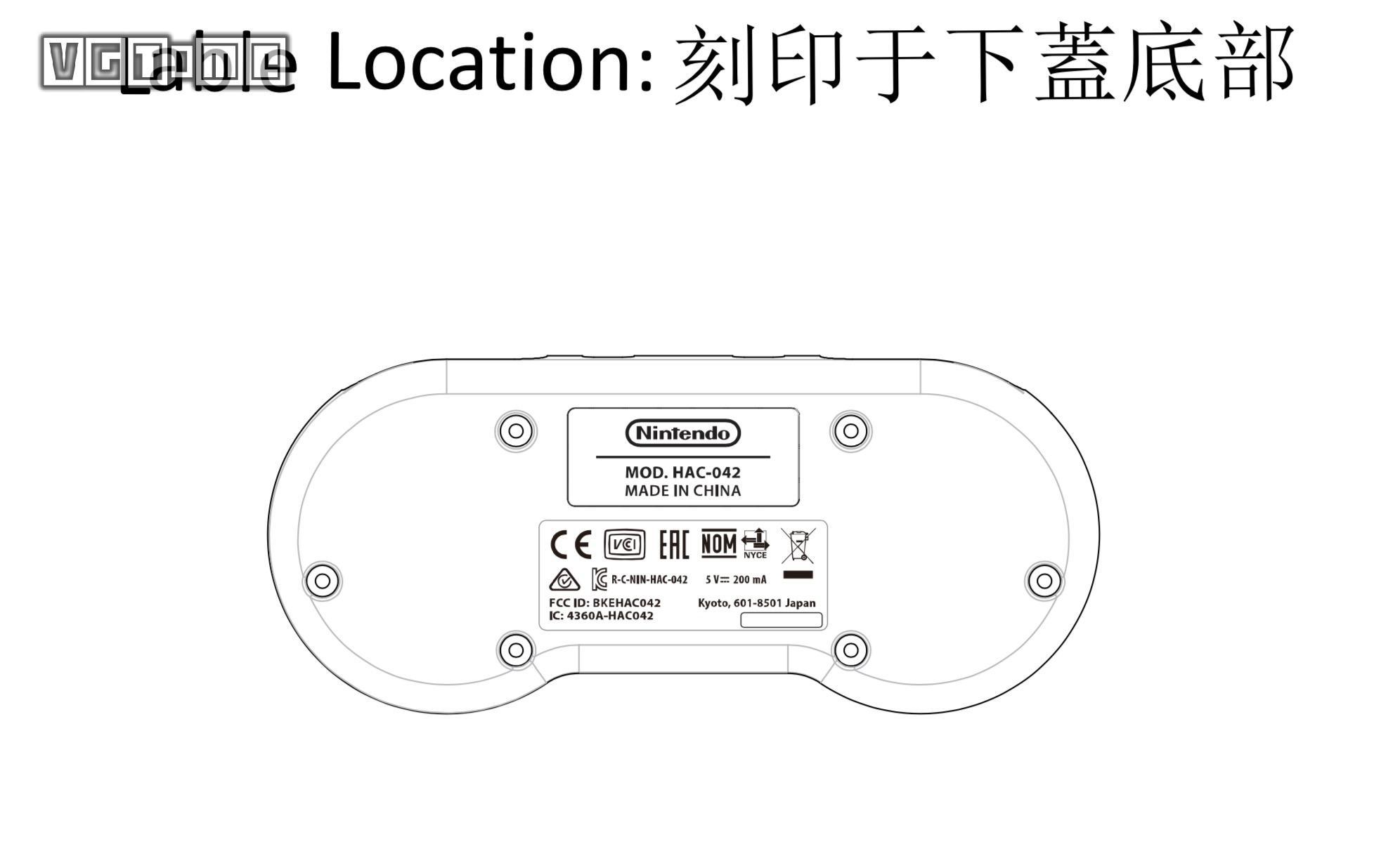 任天堂或将推出SNES风格Switch手柄