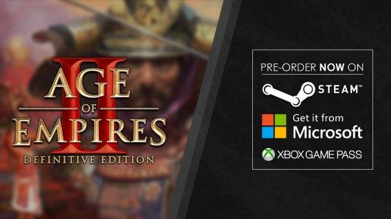 《帝国时代2 终极版》发售日锁定11月14日 支持XGP