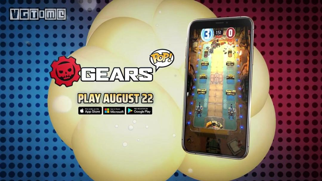 《战争机器Pop!》将于8月22日登陆移动端及Win10