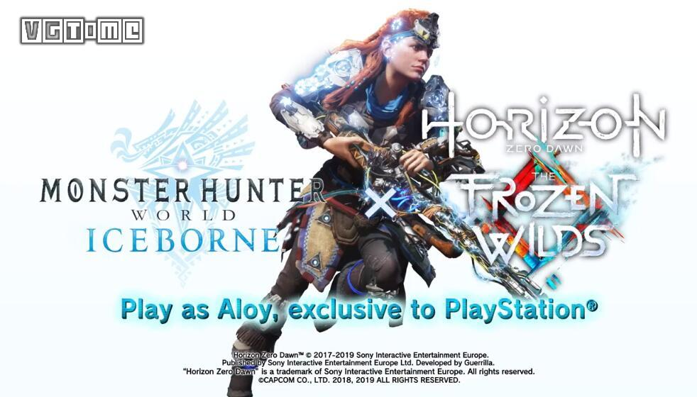 The new linkage between Monster Hunter World: Icefield and Dawn on the Horizon Zero leaked ahead of time.