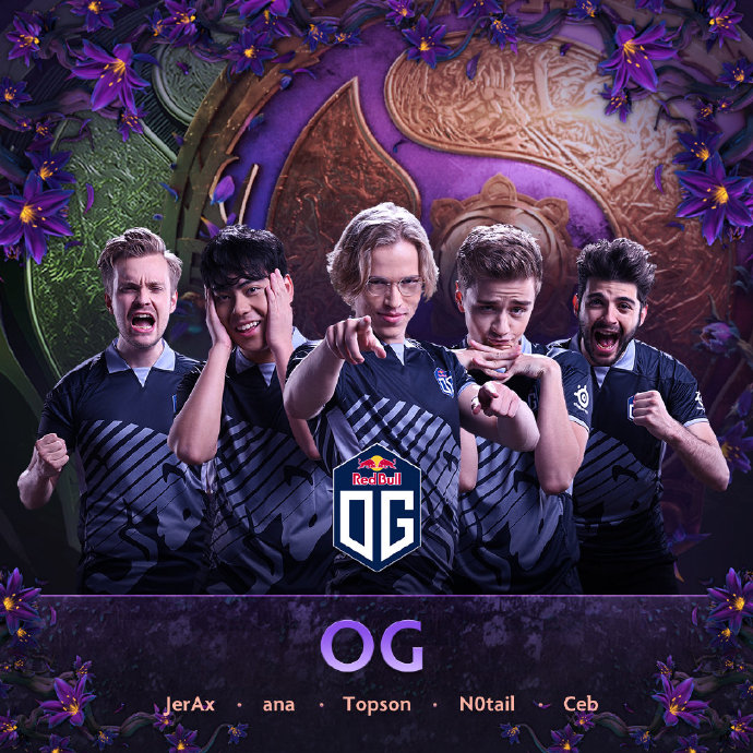 Make history! OG became the first team to win a second consecutive TI tournament in the history of DOTA2
