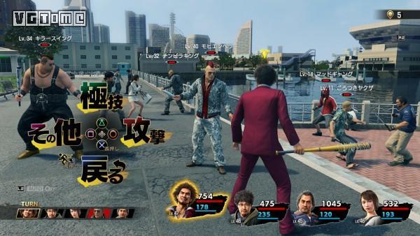 《如龙7》战斗系统情报:实时场景、灵活战斗