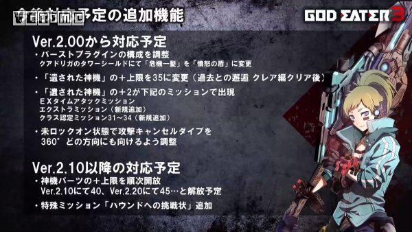 《噬神者3》今秋推出2.0免费更新 含克蕾雅回忆章节
