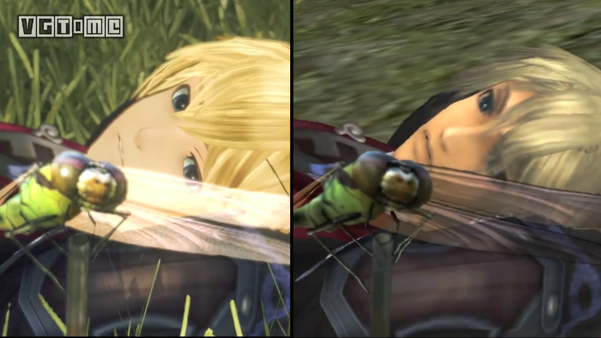 NS《异度神剑 终极版》与Wii原版游戏画面对比