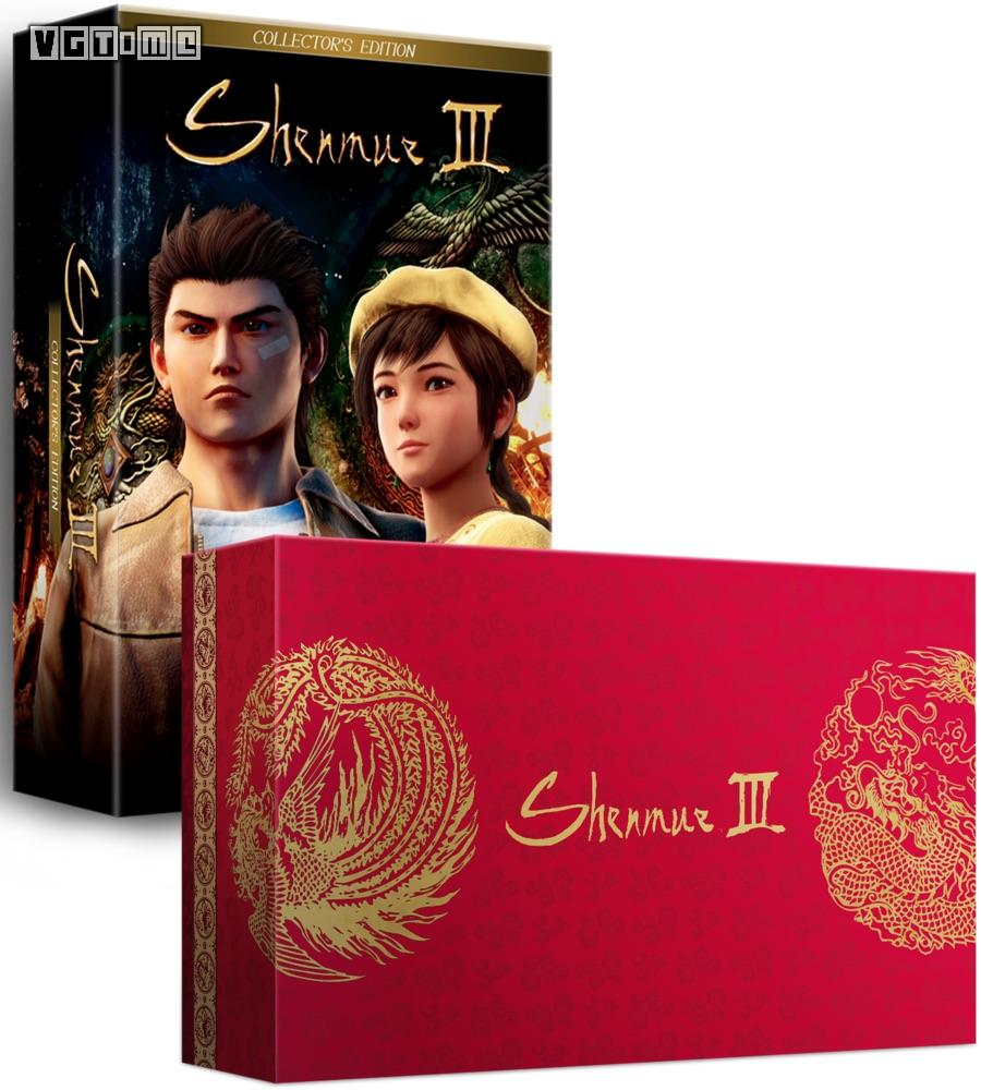 《莎木3》公布PS4限定版 内含DC风格收纳盒