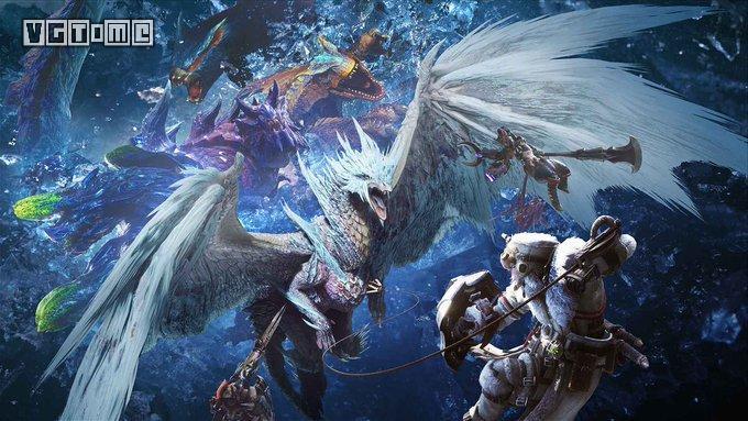 《怪物猎人 世界:冰原世纪》出货量突破250万套