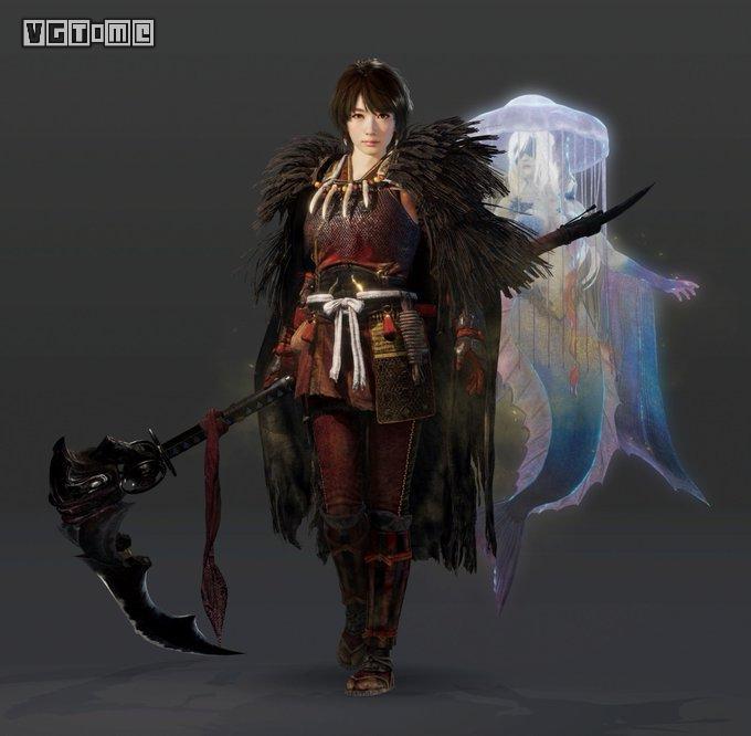 光荣公布《仁王2》波瑠、竹中直人饰演角色详情
