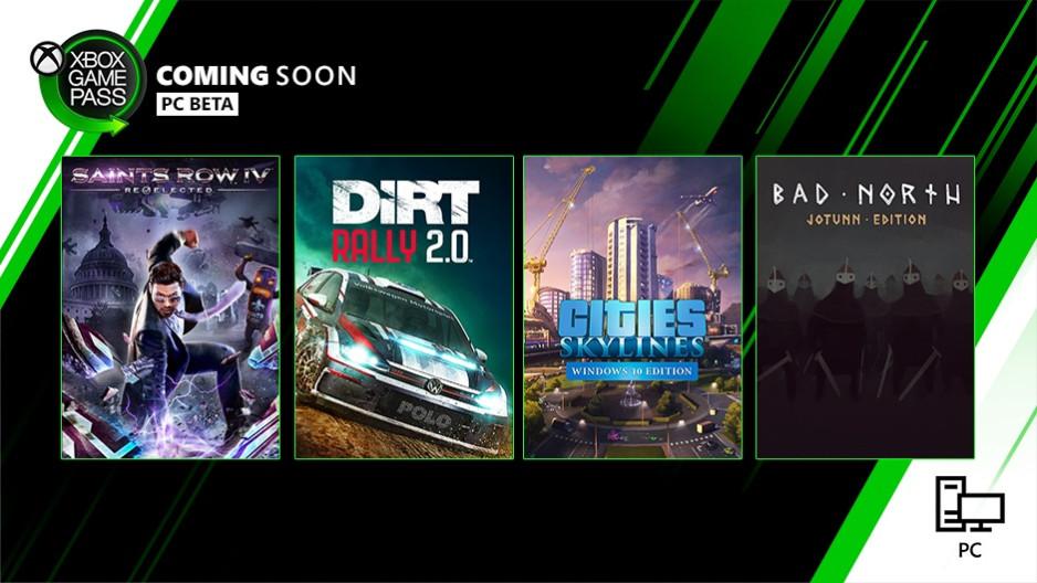 PC版XGP本月新游戏:《黑道圣徒4 连任》《尘埃 拉力赛2.0》等