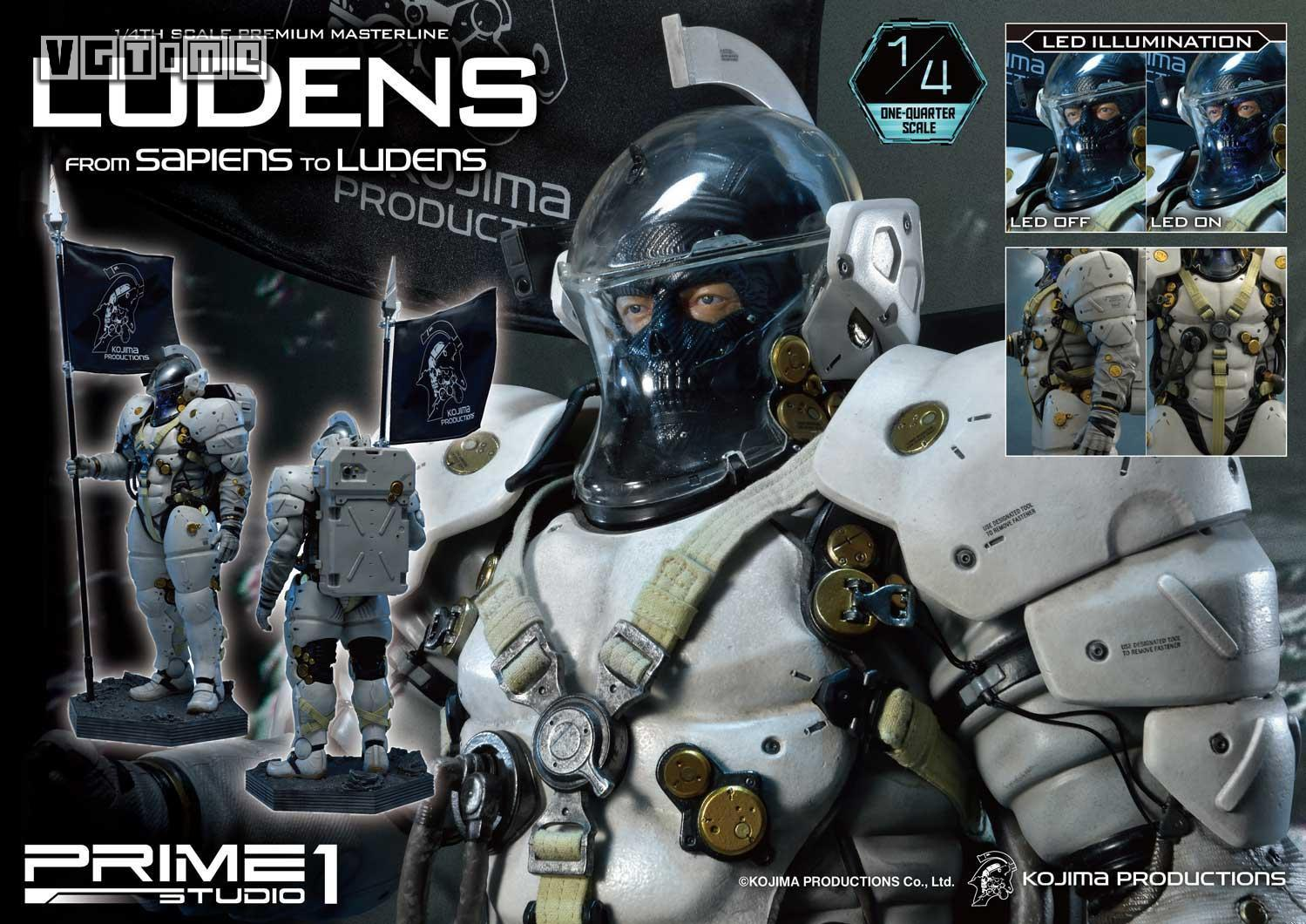 【P1S × 小岛工作室】Ludens雕像现已开启预订