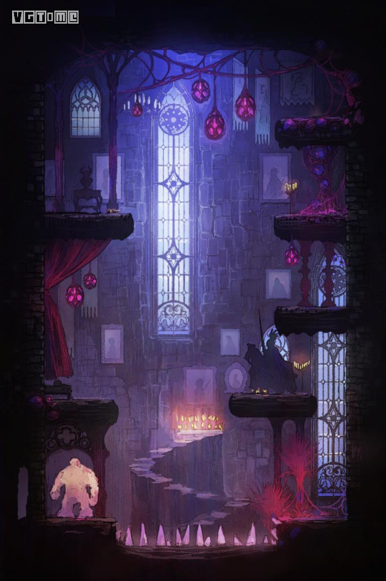 《形骸骑士》关卡场景、神秘怪物公布:手绘打造幻想中世纪